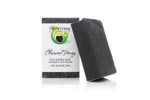 Charcoal Honey Soap | Oily & acne skin