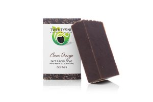 Cocoa Orange Soap | Dry skin