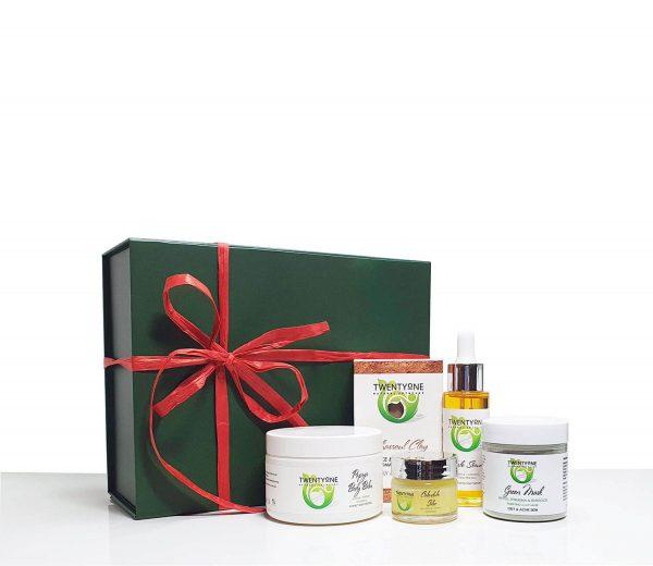 Twenty One Skin Care Green Mask Gift Set